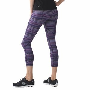 Lululemon Pace Rival Crop Luxtreme Running Tight